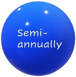 Semiannually