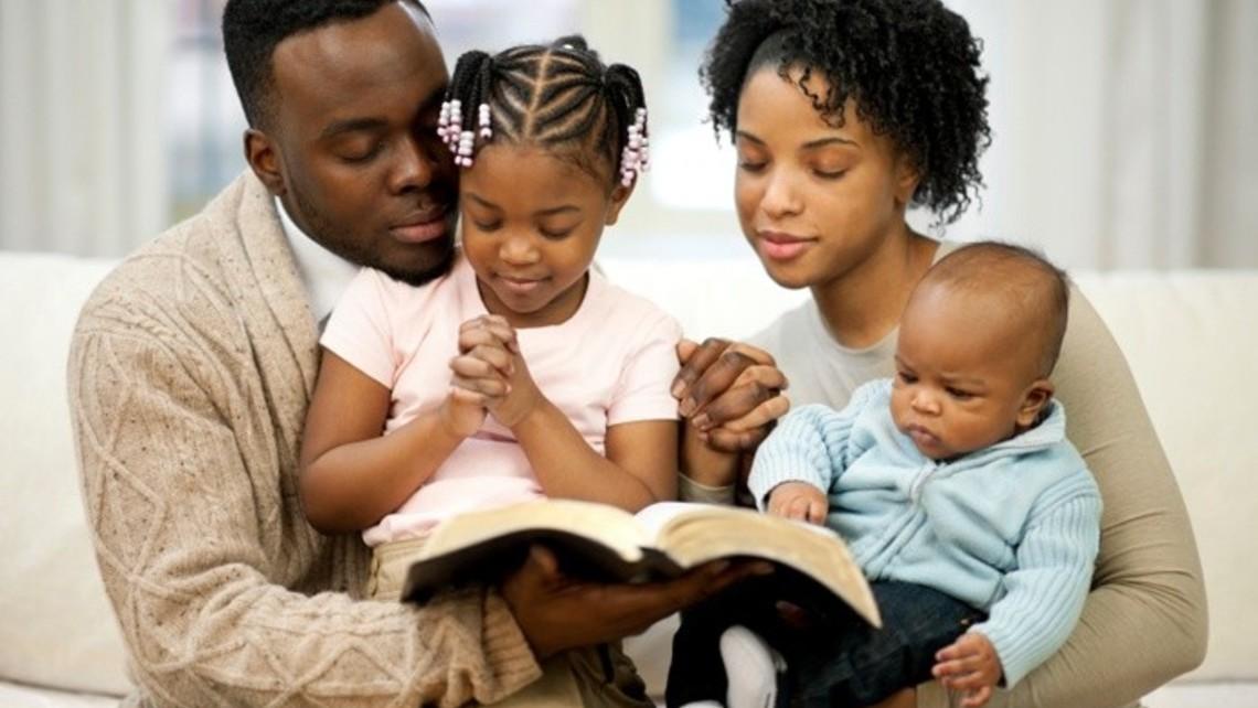 Family In Prayer