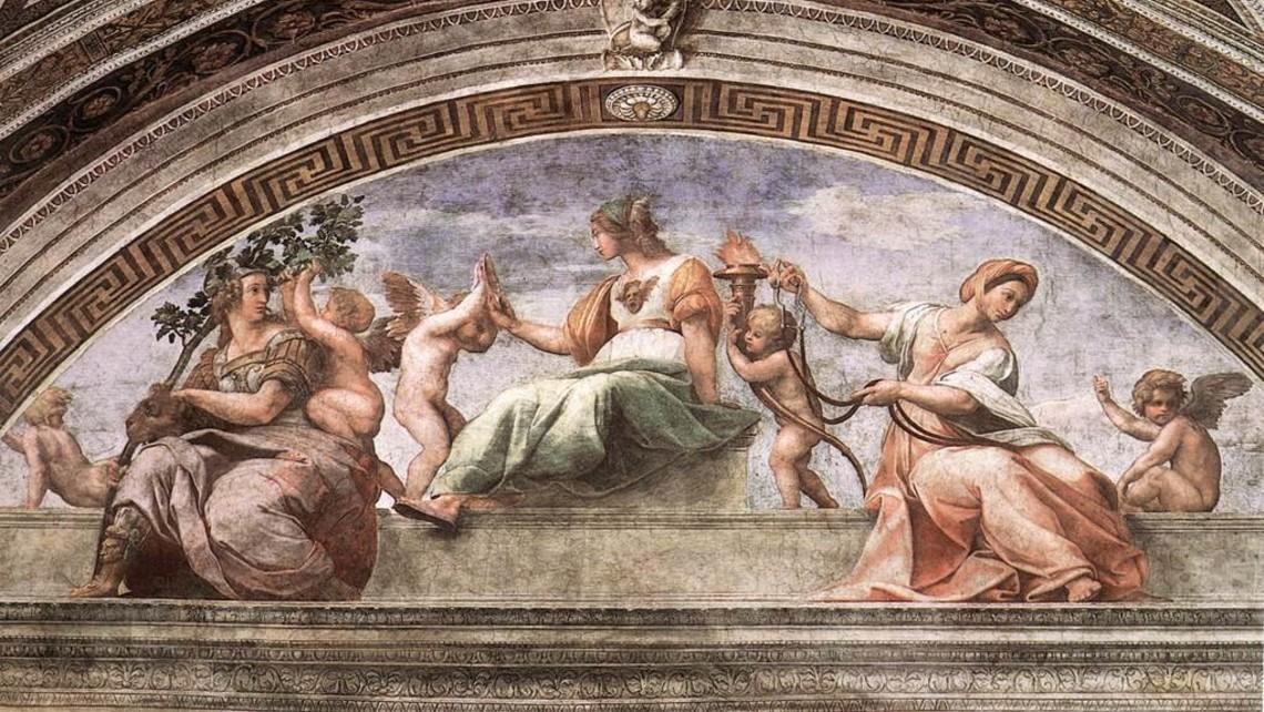 Fortitude   Raphael Virtues