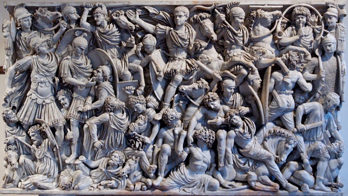 Ludovisi Battle Sarchophagus