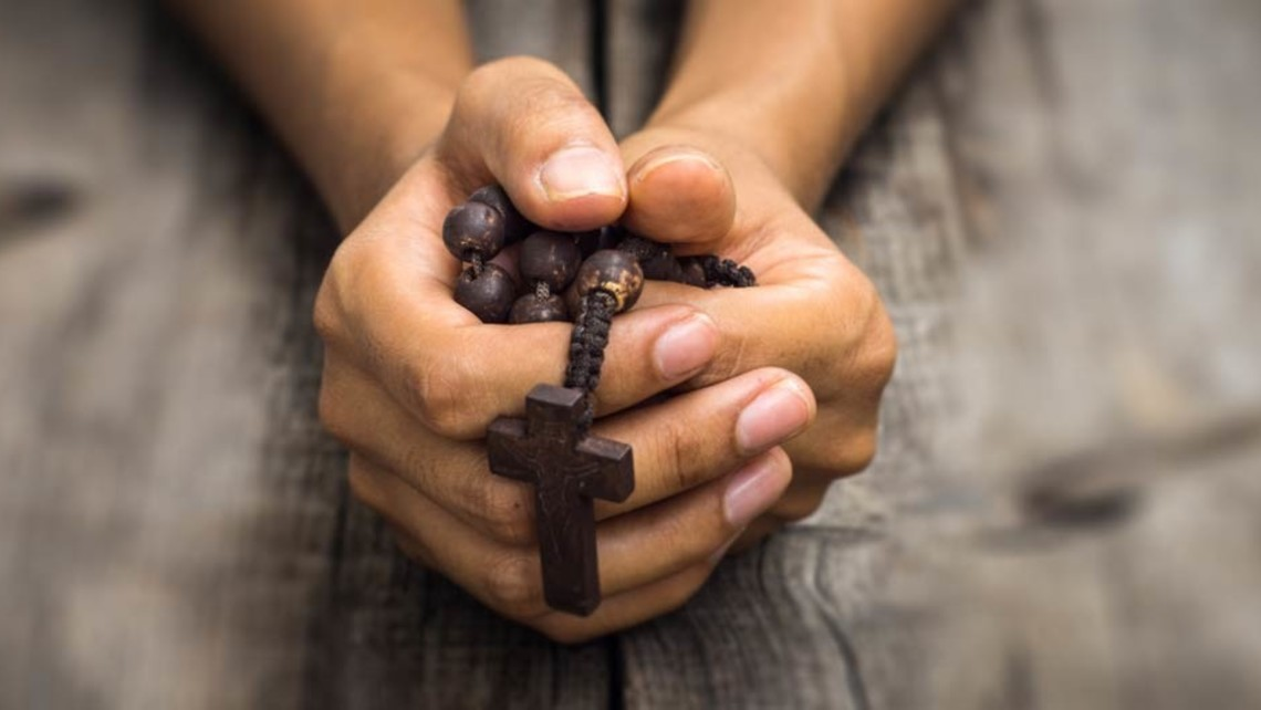 Prayer With Rosary