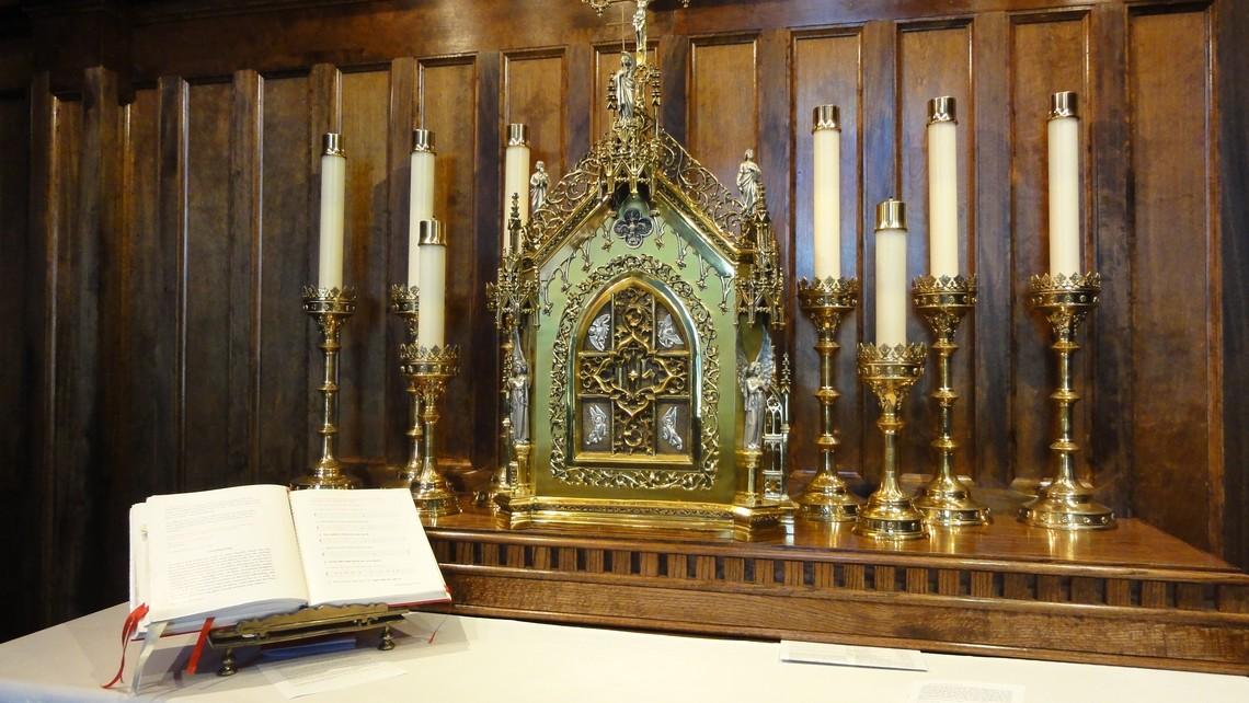 Tabernacle In Sacred Heart Chapel